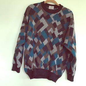 Men's Pronto Uomo Firenze multicolor sweater
